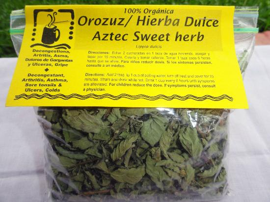 Maya Traditions Foundation: Finished Product - Aztec Sweet Herb