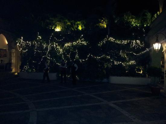 La Briciola : Courtyard