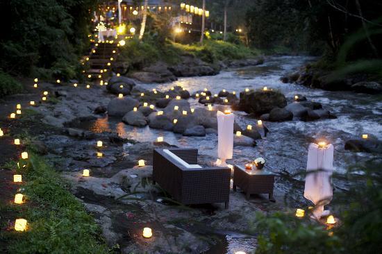 The Samaya Bali Ubud: Most romantic setting ever