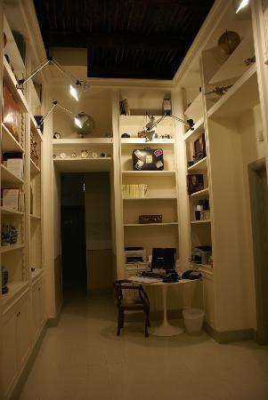 Portalba Relais: Lobby area