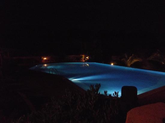 Hotel Palombaggia : vue de nuit