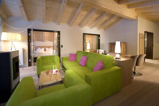 Hotel Almhof Familyresort: Kamin Suite