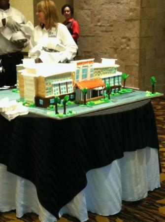 Coushatta Grand Hotel: Grand Opening cake