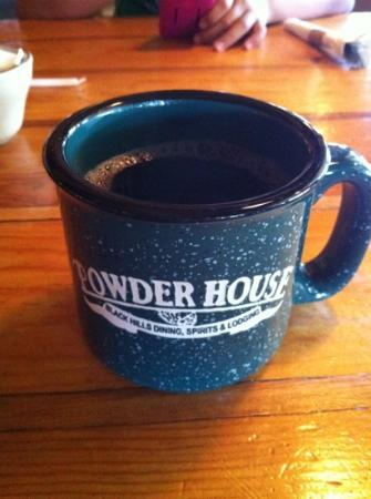 Powder House Lodge Restaurant : great cup of coffee!