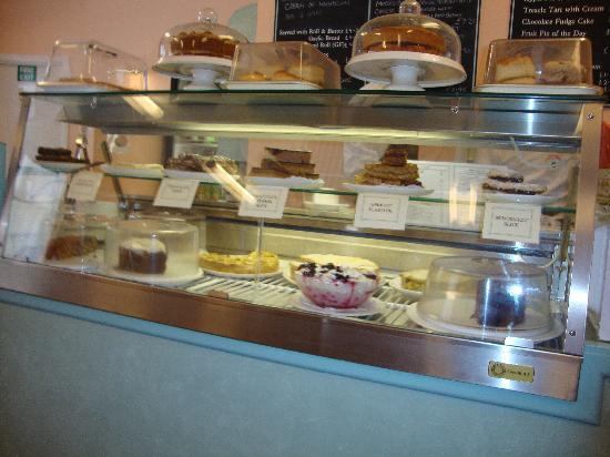 "Fields of Sidmouth Coffee Shop: Had to show the ""sweets""."