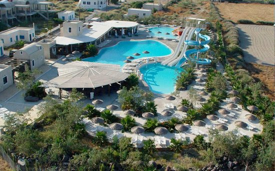 Perissa, Grecia: 3 pools, restaurant, bar, poolbar