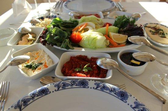 Hotel Riu Kaya Belek: Turkish restaurant - appetizers