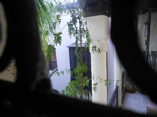 Riad 72: View from the bathroom window