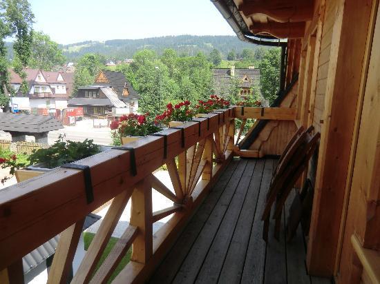Willa Kominiarski Wierch: balcony 9
