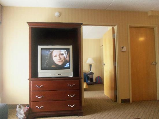 Holiday Inn Express Hotel & Suites West Long Branch: livingroom area