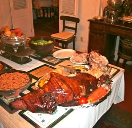 Dining at the Hermitage: Wednesday Night Buffet