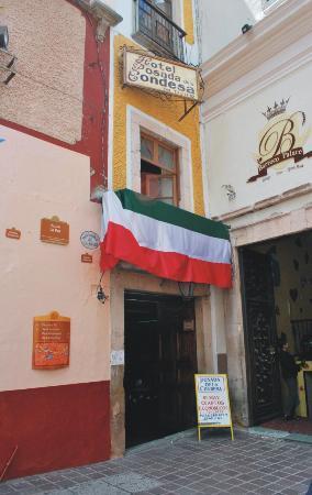 Hotel Posada de la Condesa: FACHADA HOTEL