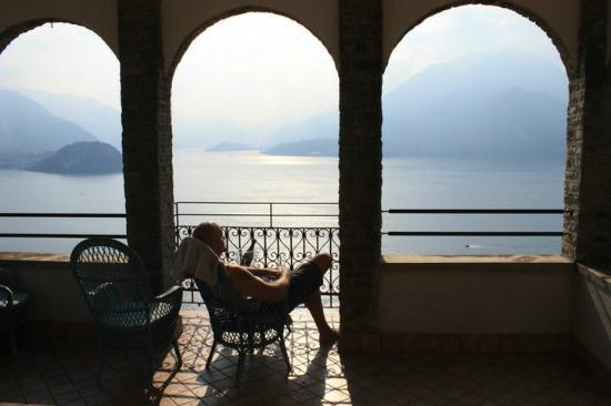 Eremo Gaudio: Balcony view from Teodolinda Suite