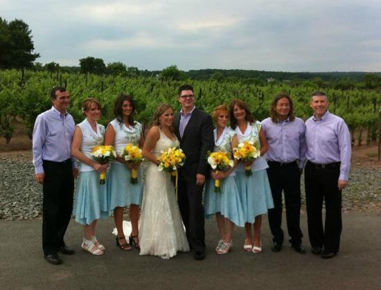 Sand Castle Winery: June wedding at the Sand Castle