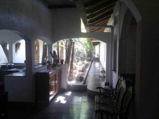 Il Padrino Hotel : courtyard