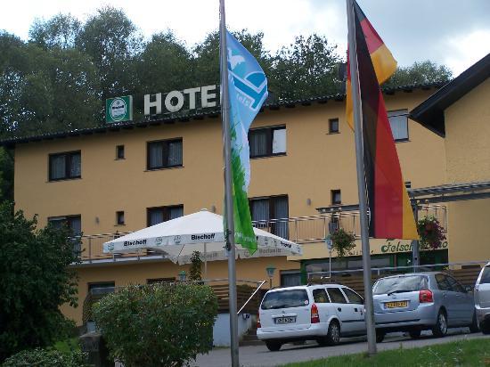 Waldhotel Felschbachhof: Hotel von aussen