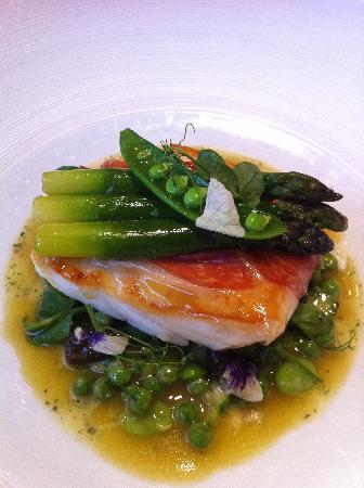 Restaurant Gordon Ramsay: main course
