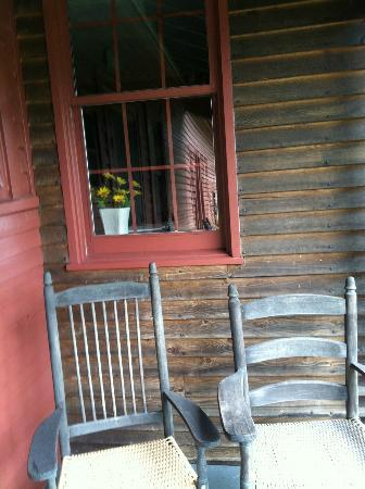 River Bend Farm: porch