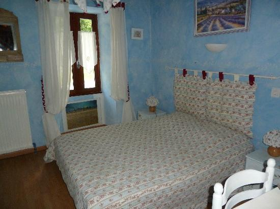 Les Terres Blanches : chambre