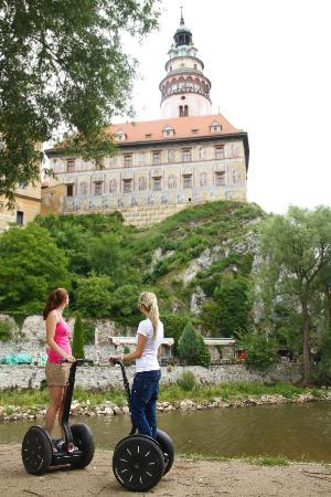 Segway Tour Cesky Krumlov : Make your own picture from SEGWAY