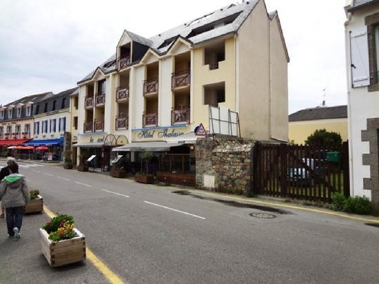 Hotel Thalassa: Hotel Front
