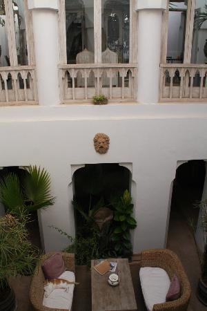 Riad Safa: riad interior