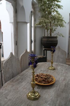 Riad Safa: gorgeous furniture 