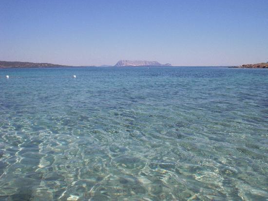 Tanaunella, Italien: plage de l'hôtel... où sont les algues?!