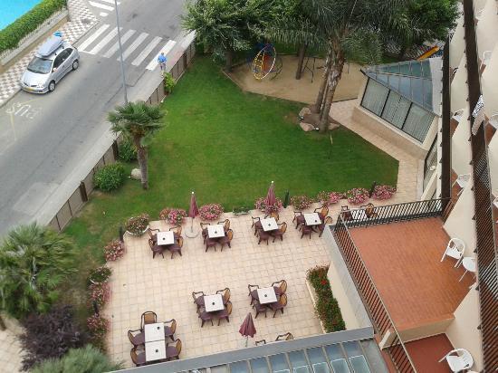 Sumus Hotel Stella & Spa: Blick vom Balkon