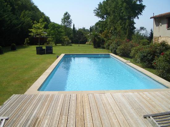 La Masquiere: l'espace piscine