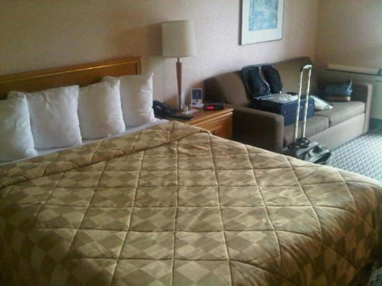 Comfort Inn Rimouski : Confortable beds