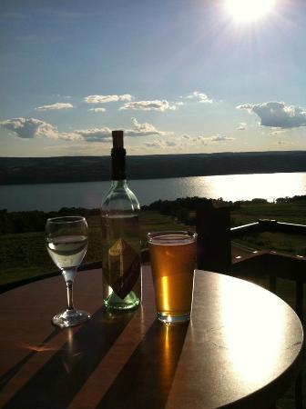 Two Goats Brewing: THE. BEST. VIEW. PERIOD.