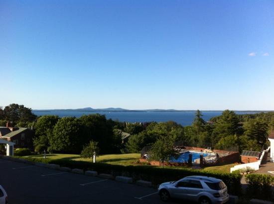Bluenose Inn - A Bar Harbor Hotel: vue depuis notre chambre BlueNose Inn Bar Harbor
