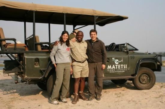 Matetsi Private Game Reserve: Il nostro driver