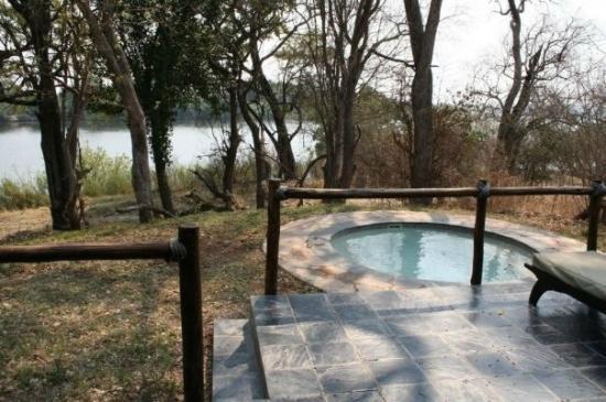 Matetsi Private Game Reserve: Piscina della camera