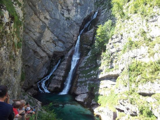 Waterfall Savica : Savica waterfall