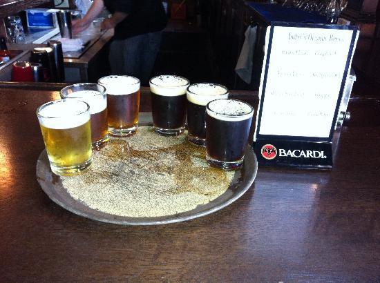 Ukiah Brewing Company & Restaurant: The sampler