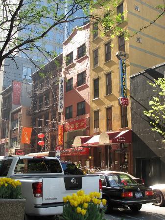 Da Vinci Hotel: Hotel y alrededores