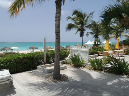 Sibonne Beach Hotel: View from outside Suite 218