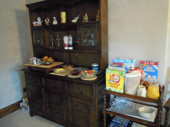 Hill Crest Country Guest House: Breakfast