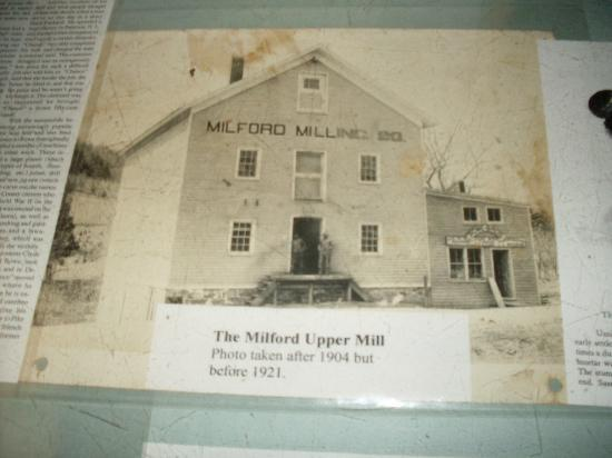 The Upper Mill: Old Picture of Gristmill