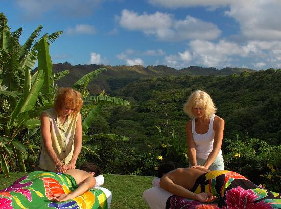 Mana Massage Kauai : Outdoors Overlooking the Sacred Wailua River Valley in Kapaa district