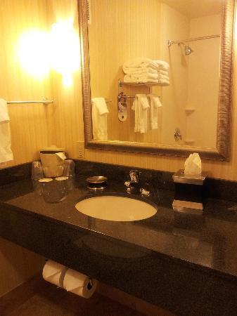 Holiday Inn Yakima: Bathroom
