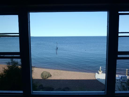 The Shoreline Inn: View from Room