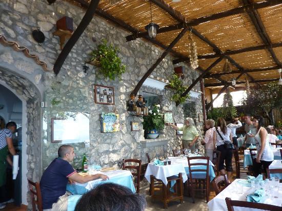 Positano Restaurant Picture Of La Tagliata Positano