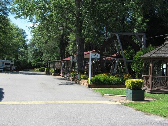 Anvil Campground: Office and Store Buildings