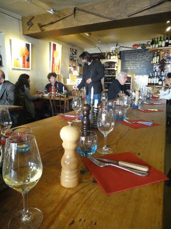 Caves Madeleine : The restaurant