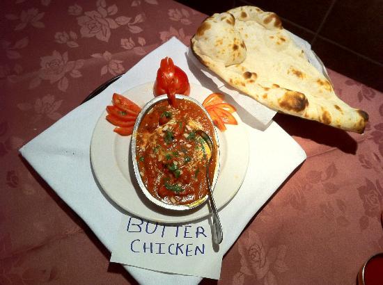 Garlic bread picture of trimurti indian cuisine toronto - Herve cuisine butter chicken ...