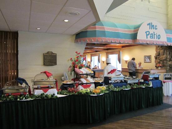Glenstone Lodge: Breakfast