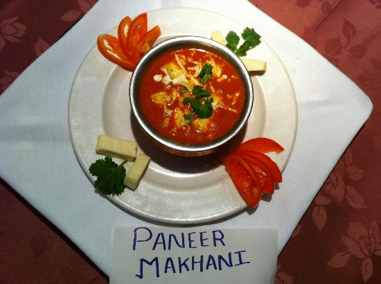 Trimurti Indian Cuisine: Paneer Makhini